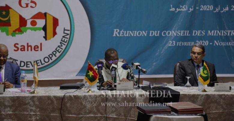 Sommet du G5 : réunion préparatoire du conseil des ministres