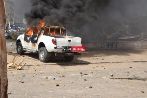 Un énorme incendie fait des ravages dans l'oasis de MHaireth …Photos