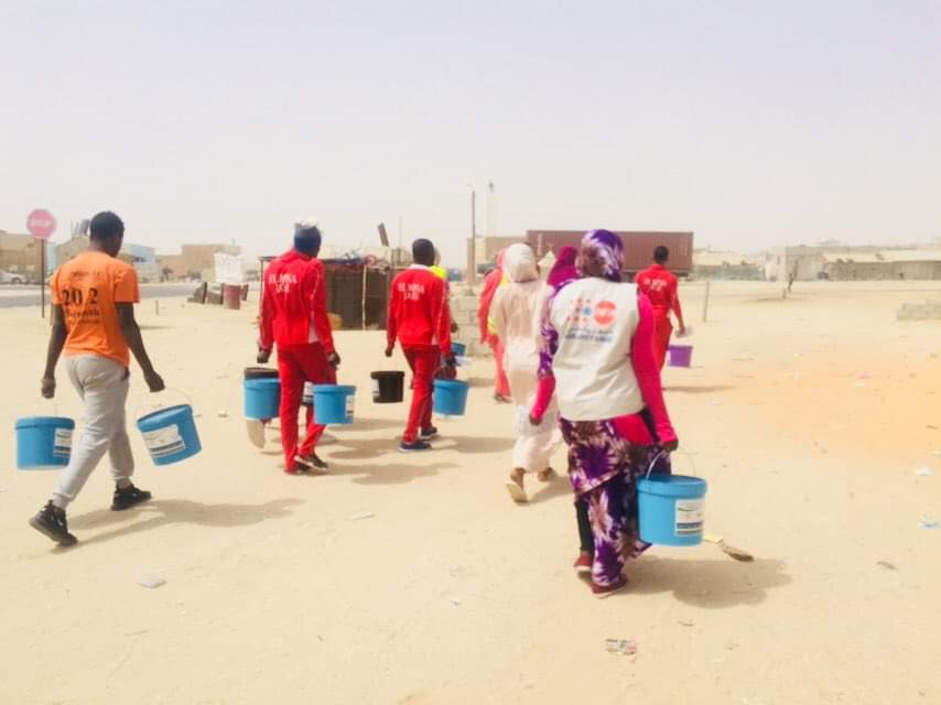 Lutte contre le Covid-19 : FNUAP et JAHE organisent une cérémonie de distribution de kits de lavage des mains à 500 familles à Darbeidha