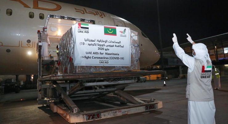 Coronavirus : aide des Emirats Arabes Unis à la Mauritanie